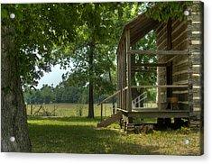 Settlers Cabin Arkansas 1 Acrylic Print by Douglas Barnett