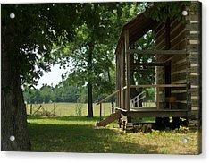 Settlers Cabin Arkansas 2 Acrylic Print by Douglas Barnett