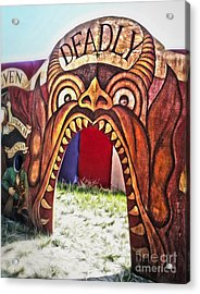 Seven Deadly Sins - Devil Acrylic Print by Gregory Dyer