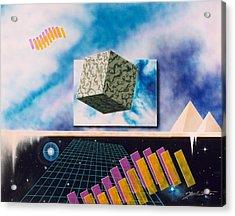Seven Dimensions Acrylic Print