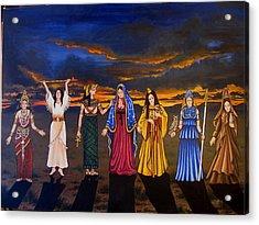 Seven Sisters Acrylic Print