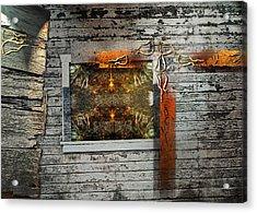 Shack-2 Acrylic Print by Janet Kearns
