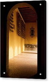 Acrylic Print featuring the photograph Shaded Portal by Lorraine Devon Wilke