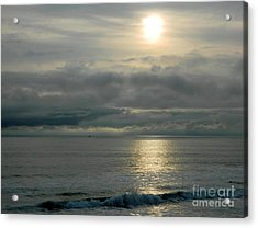 Acrylic Print featuring the photograph Shades Of Gray by Everette McMahan jr