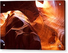 Shades Of Reflections Acrylic Print by Bob and Nancy Kendrick