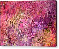 Shades Of Summer Acrylic Print by Carol Groenen