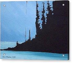 Shadow Island Acrylic Print