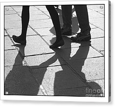 Acrylic Print featuring the photograph Shadow People by Victoria Harrington