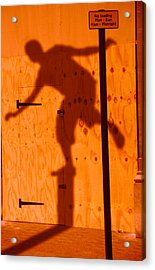 Acrylic Print featuring the photograph Shadow Play  by Richard Piper