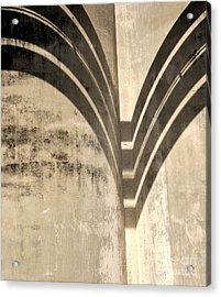 Shadows Industrial Decay  Acrylic Print