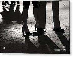 Shadows Of Tango Acrylic Print