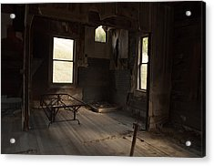 Acrylic Print featuring the photograph Shadows Of Time by Fran Riley