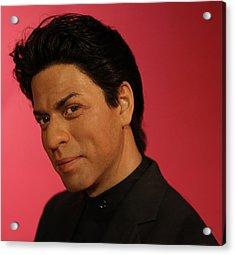 Shahrukh Khan - Shah Rukh Khan - Baadshah Of Bollywood - King Khan - The King Of Bollywood  Acrylic Print by Lee Dos Santos