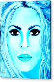 Shakira Avator Acrylic Print