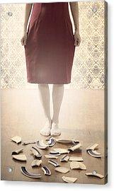 Shards Acrylic Print by Joana Kruse