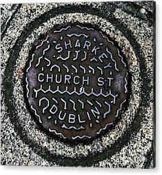 Sharkey Church Street Acrylic Print by John Rizzuto