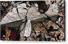 Shattered Lunar Landing Acrylic Print