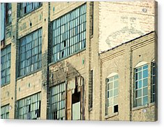 Shaw Walker Building Acrylic Print by Ritter Photography And Fine Art Images