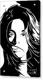 She Is Acrylic Print