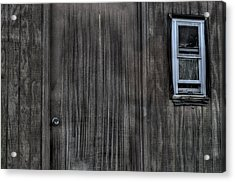 Shed Acrylic Print by Zawhaus Photography