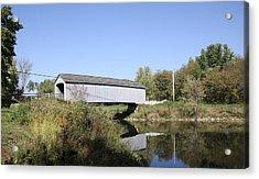 Sheffield Covered Bridge Acrylic Print