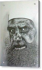 Sheikh I. Acrylic Print by Paula Steffensen
