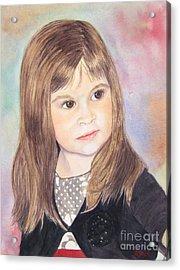 Shelby Acrylic Print by Carol Flagg