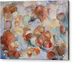 Shell Impression I Acrylic Print by Susan Hanlon