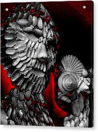 Shell Man Acrylic Print by Lori Seaman