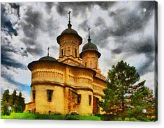 Shelter From The Coming Storm Acrylic Print by Jeff Kolker