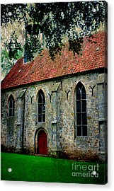 Shelter From The Storm Acrylic Print by Carol Groenen