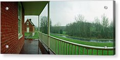 Sherrick House Acrylic Print by Jan W Faul