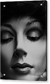 She's Stiff Acrylic Print by David Taylor