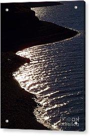 Shining Shoreline Acrylic Print