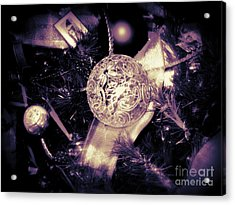 Acrylic Print featuring the photograph Shiny And Bright by Nancy Dole McGuigan