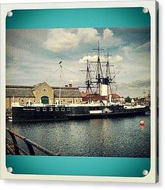 #ship #boat #transport #photowall Acrylic Print