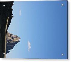 Shiprock Acrylic Print by FeVa  Fotos