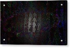 Ship's Footprint Acrylic Print by Mitra Kelly