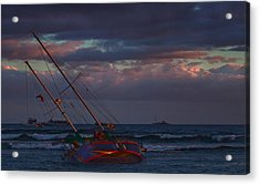 Shipwrecked Acrylic Print by James Roemmling