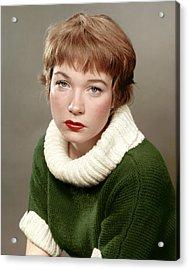Shirley Maclaine, Late 1950s Acrylic Print by Everett