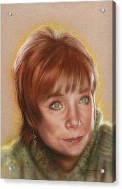 Shirley Acrylic Print by Timothy Scoggins