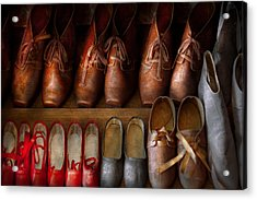 Shoemaker - Shoes Worn In Life Acrylic Print