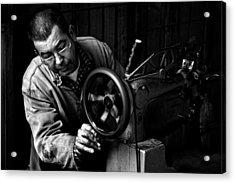 Shoemaker Acrylic Print by Ilker Goksen
