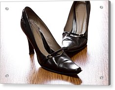 Shoes Acrylic Print by Blink Images