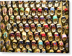 Acrylic Print featuring the photograph Shoes by Yew Kwang