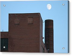Shoot The Moon Acrylic Print by Artist Orange