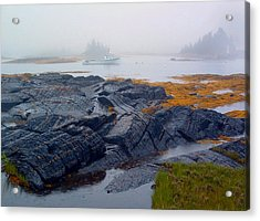 Shorelines Bluerocks Lunenburg Nova Scotia Acrylic Print