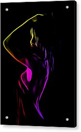 Shower Girl Acrylic Print by Steve K