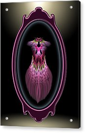 Showgirl Reflection Acrylic Print