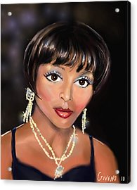 Showtime Acrylic Print by Mark Givens